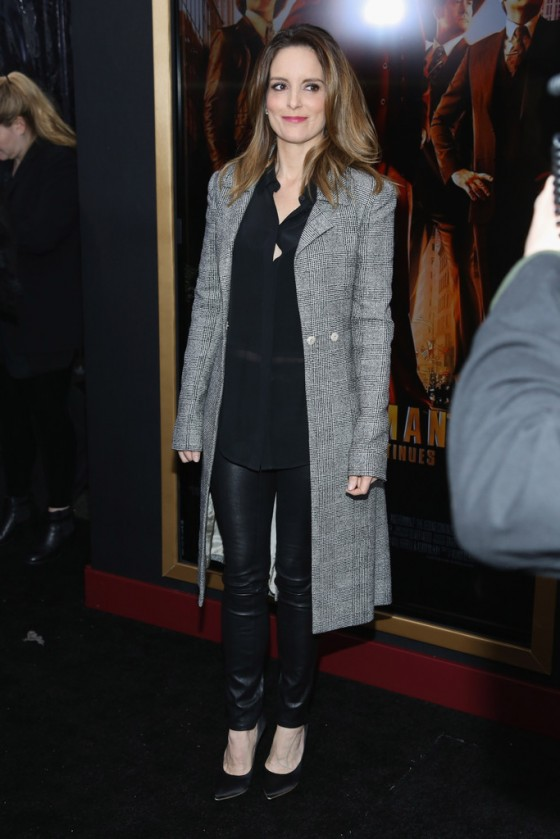 Tina Fey at Anchorman 2 Premiere -01