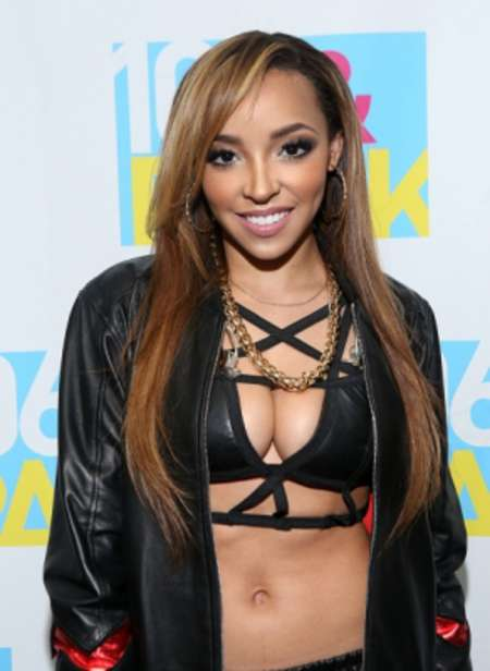 Tinashe at BET 106 & Park LIVE Studios in NY