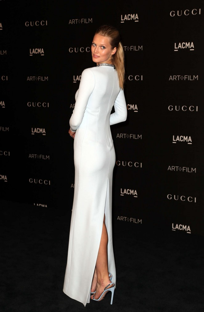 Toni Garrn - LACMA Art + Film Gala 2014 in LA