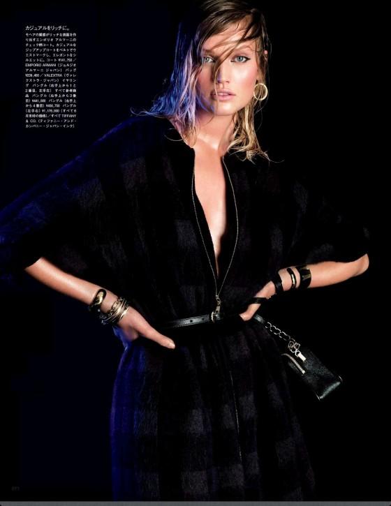 Toni Garrn – Vogue Japan Magazine (August 2013)