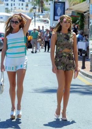 TOWIE Girls in Bikini 2014 -08