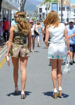 TOWIE Girls in Bikini 2014 -14