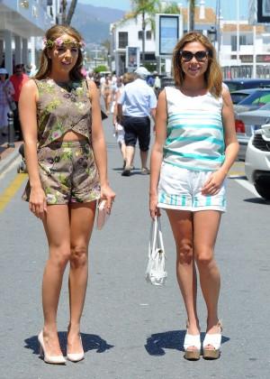 TOWIE Girls in Bikini 2014 -17
