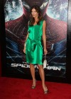 Tricia Helfer - in a green dress at The Amazing Spider Man Premiere-01