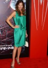 Tricia Helfer - in a green dress at The Amazing Spider Man Premiere-02