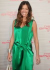 Tricia Helfer - in a green dress at The Amazing Spider Man Premiere-03