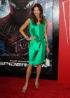 Tricia Helfer - in a green dress at The Amazing Spider Man Premiere-04
