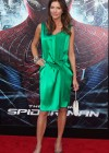 Tricia Helfer - in a green dress at The Amazing Spider Man Premiere-08