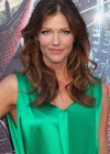 Tricia Helfer - in a green dress at The Amazing Spider Man Premiere-11
