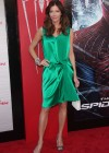 Tricia Helfer - in a green dress at The Amazing Spider Man Premiere-12