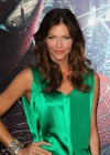 Tricia Helfer - in a green dress at The Amazing Spider Man Premiere-13