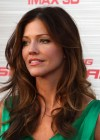Tricia Helfer - in a green dress at The Amazing Spider Man Premiere-14