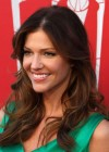 Tricia Helfer - in a green dress at The Amazing Spider Man Premiere-16