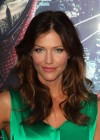 Tricia Helfer - in a green dress at The Amazing Spider Man Premiere-18
