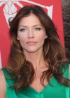 Tricia Helfer - in a green dress at The Amazing Spider Man Premiere-19
