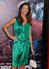 Tricia Helfer - in a green dress at The Amazing Spider Man Premiere-21
