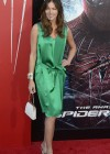 Tricia Helfer - in a green dress at The Amazing Spider Man Premiere-24