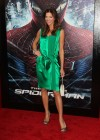 Tricia Helfer - in a green dress at The Amazing Spider Man Premiere-26