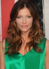Tricia Helfer - in a green dress at The Amazing Spider Man Premiere-27