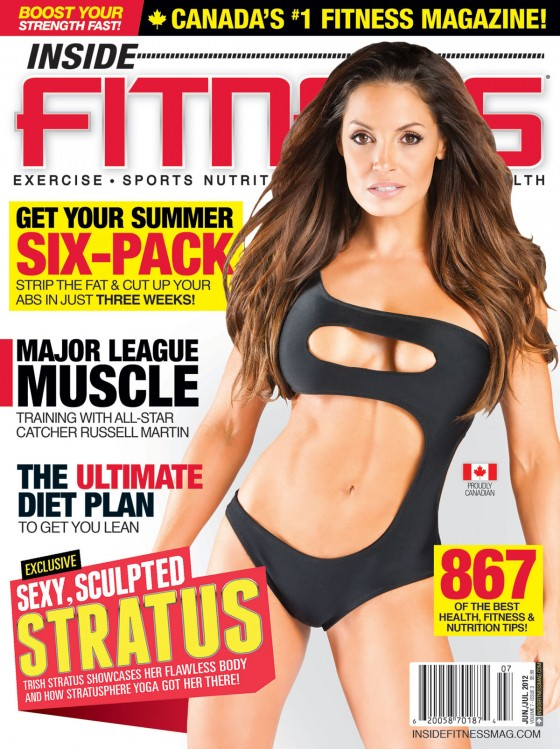 Trish Stratus - Inside Fitness Magazine (July 2012)