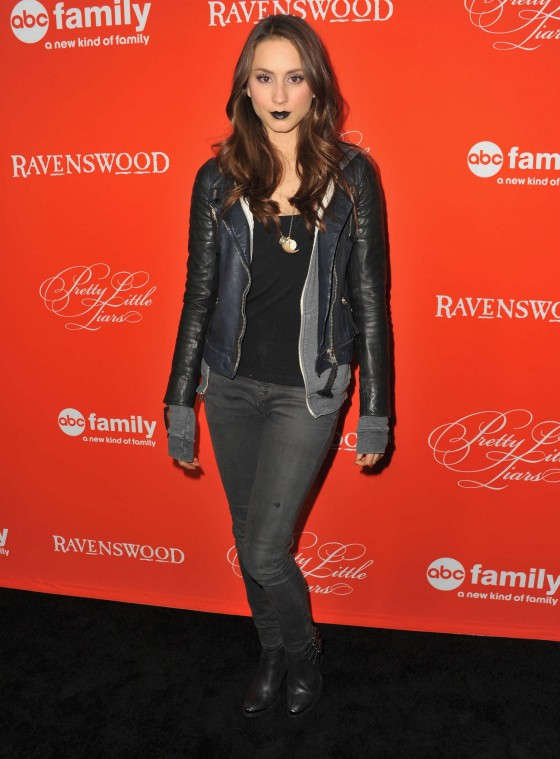 Troian Bellisario: Pretty Little Liars Halloween Episode Screening -01