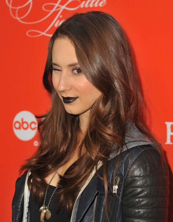 Troian Bellisario: Pretty Little Liars Halloween Episode Screening -04