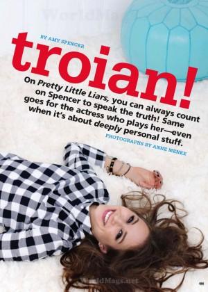 Troian Bellisario: Seventeen Magazine -02