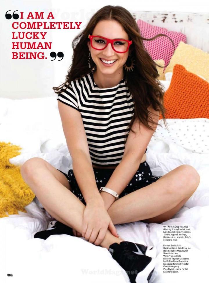 Troian Bellisario: Seventeen Magazine -05