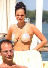 Tulisa Contostavlos shows off her bikini body while hanging out poolside in Miami-22