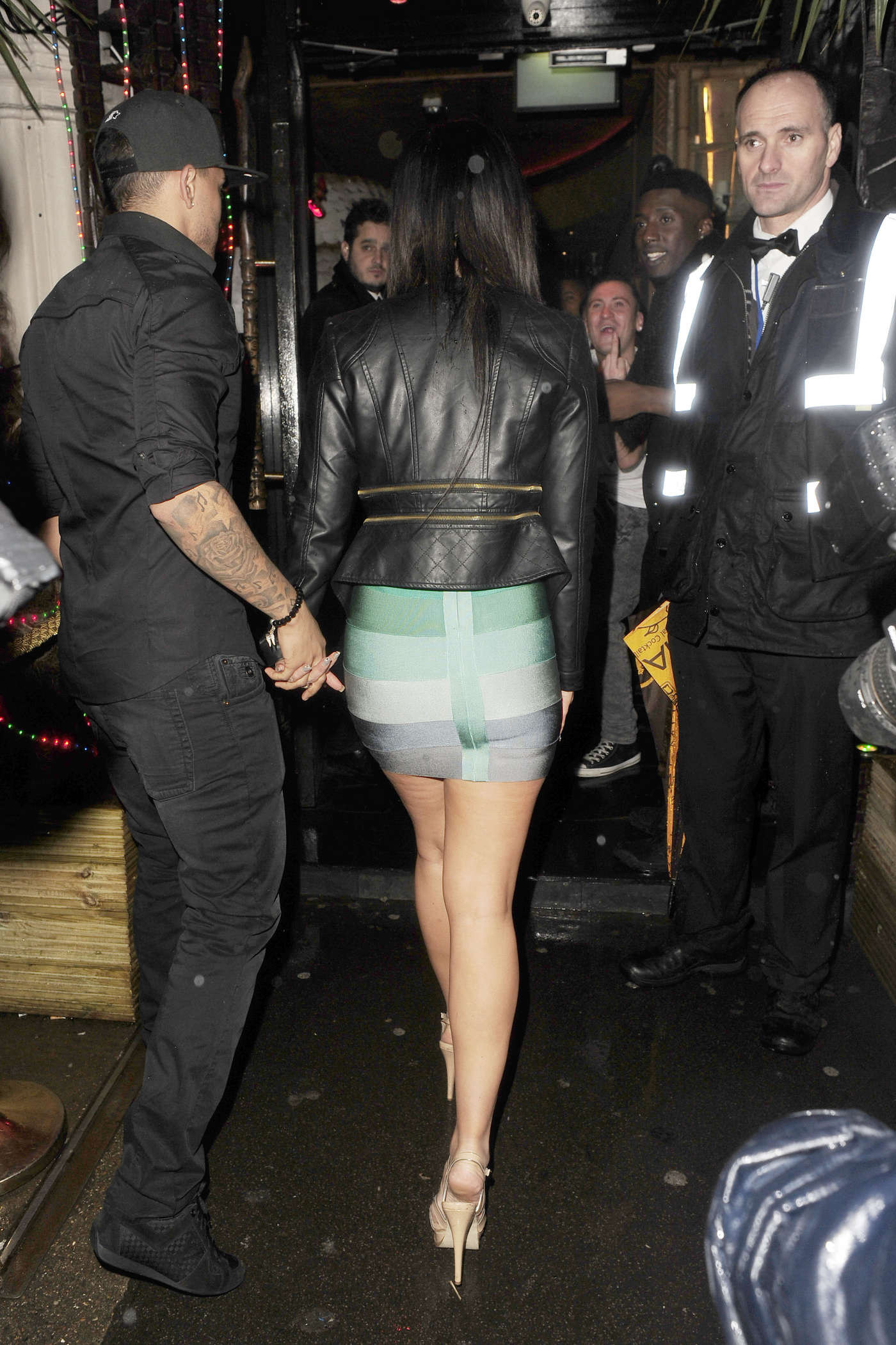 Tulisa Contostavlos In Tight Dress At Mahiki Nightclub -10 -2562