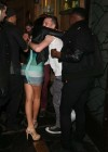 Tulisa Contostavlos in tight dress at Mahiki Nightclub -13