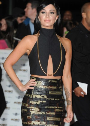Tulisa Contostavlos - 2014 MOBO Awards in London