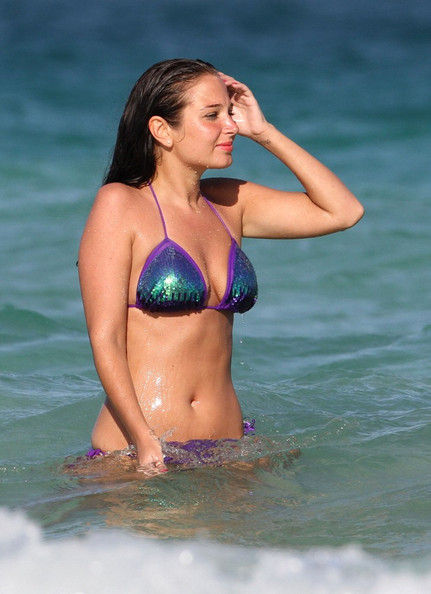Tulisa Contostavlos - New Hot Bikini pics from Miami-16