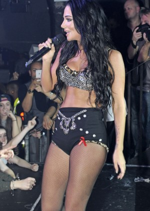 Tulisa Contostavlos - Performs Live at G-A-Y Heaven Nightclub in London
