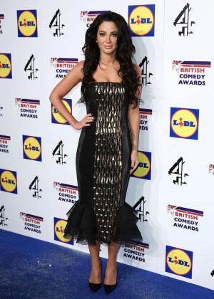 Tulisa Contostavlos - The British Comedy Awards 2014 in London