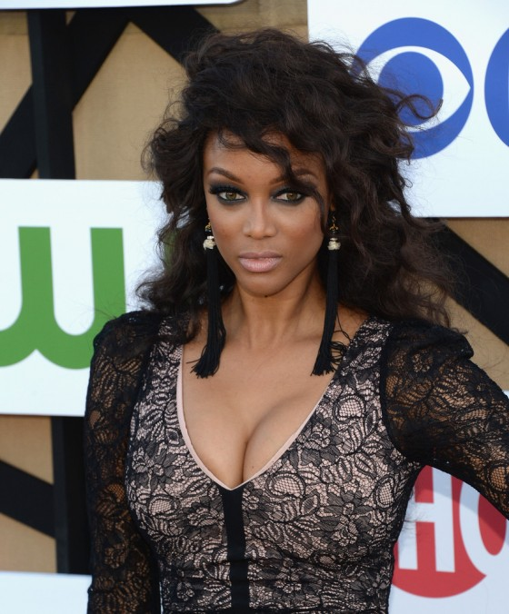 Tyra Banks Awards: CW CBS And Showtime 2013 Summer TCA Party