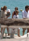 Uma Thurman - Wearing bikini at Club 55 in Saint Tropez -04