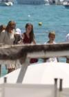 Uma Thurman - Wearing bikini at Club 55 in Saint Tropez -16