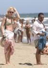 Valeria Mazza - wearing a bikini in Marbella -05