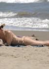 Valeria Mazza - wearing a bikini in Marbella -07