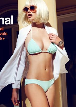 Valerie van der Graaf: Beach Bunny Swimwear (Spring 2013) -10