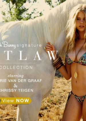 Valerie van der Graaf: Beach Bunny Swimwear (Spring 2013) -15