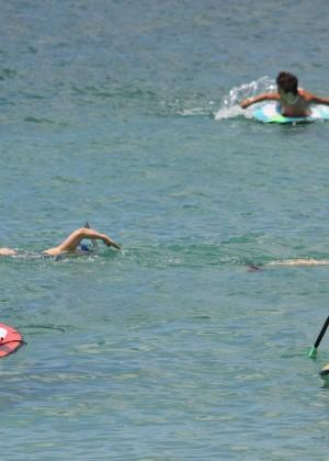 Vanessa and Stella Hudgens bikini 2014 -01