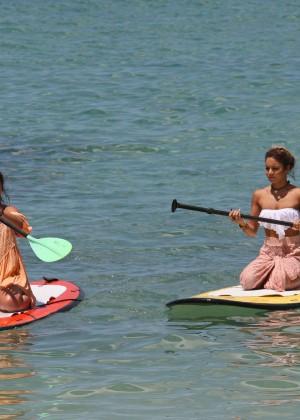 Vanessa and Stella Hudgens bikini 2014 -25