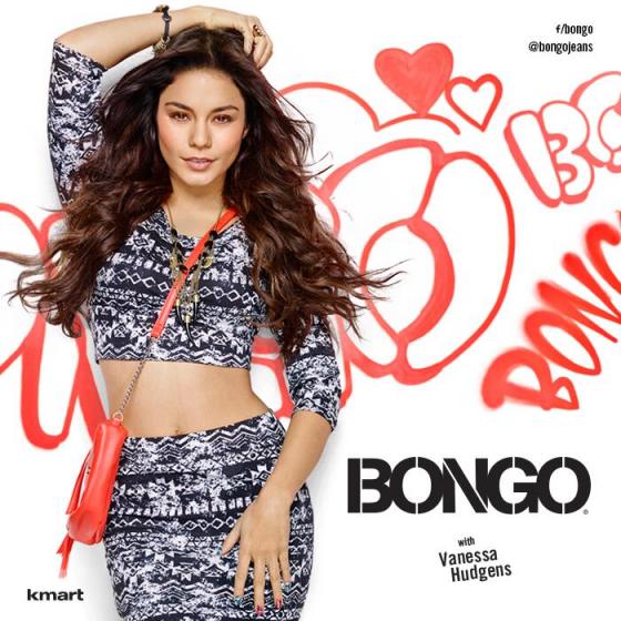 Vanessa Hudgens: 2014 Bongo Jeans Campaign -01