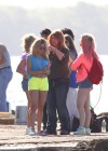 Vanessa Hudgens and Ashley Benson Filming Spring Breakers-04