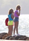 Vanessa Hudgens and Ashley Benson Filming Spring Breakers-05