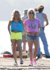 Vanessa Hudgens and Ashley Benson Filming Spring Breakers-08