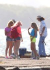 Vanessa Hudgens and Ashley Benson Filming Spring Breakers-14