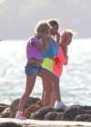 Vanessa Hudgens and Ashley Benson Filming Spring Breakers-15